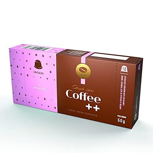 Cápsula de Café Especial Geisha Coffee Mais, Compatível com Nespresso, Contém 10 Unidades