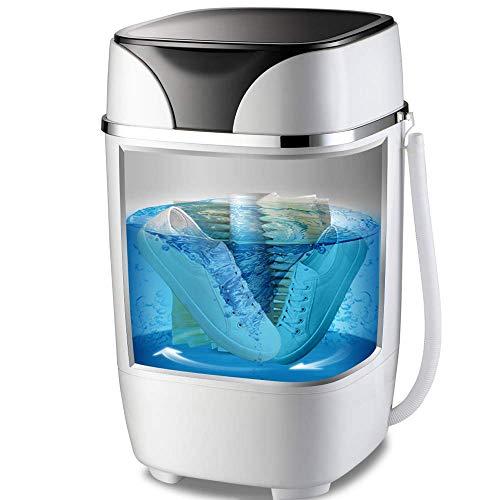 ZFFSC Schoen Wasmachine, Draagbare Borstel Washer Schoenen, 5.0Kg Semi-Automatische Kleine Schone Wassen, Statische Micro Ponsen Technologie Geur Eliminatie