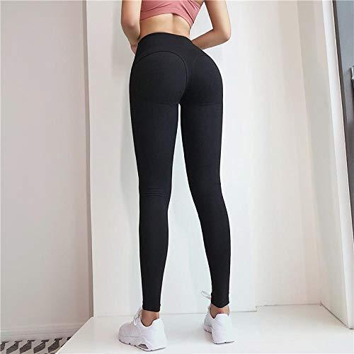 High Taist Fitness Leggings Für Frauen Solid Casual Schnelltrocknende Leggings Frauen Gothic Fitness Legging Punk Leggins S Schwarz