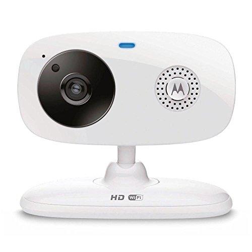 Câmera de vídeo Wi-Fi Motorola FOCUS66 c/ visão noturna via Smartphone
