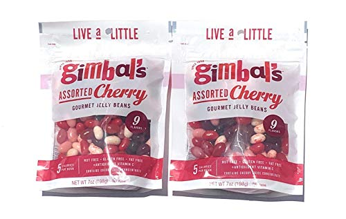 Gimbals Assorted Cherry Jelly Beans 2 Pack