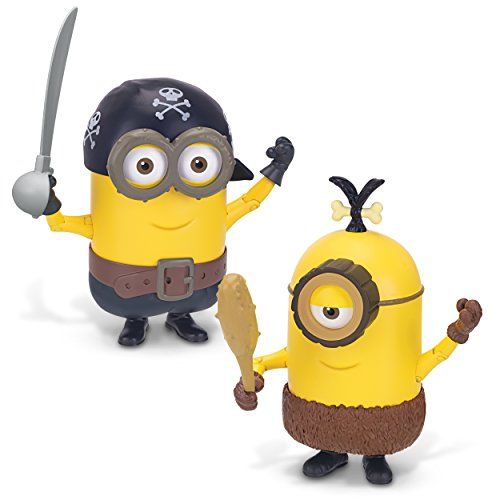 The Minions Deluxe Action Figure [Build-A-Minion - Pirate/Cro-Minion]