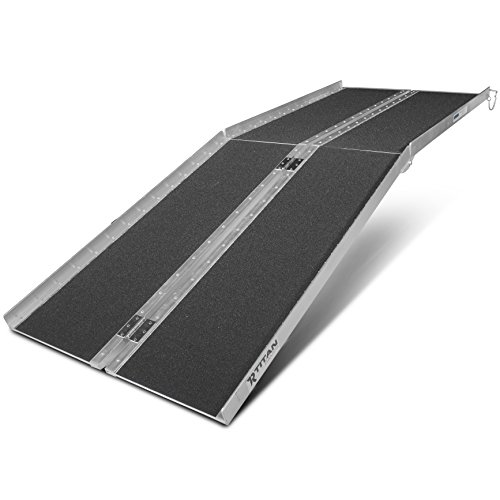 Titan Ramps 7' ft Aluminum Multifold