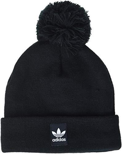 adidas Erwachsene Mütze Pom Pom, Black, OSFM, D98942