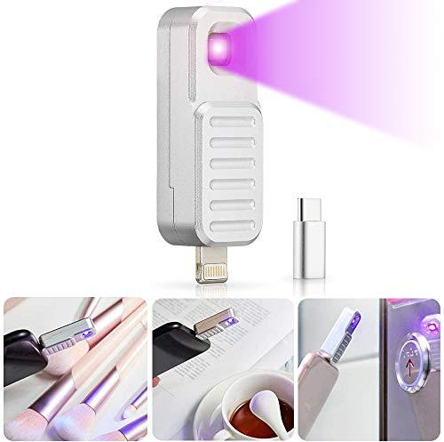 GreenSun Lámpara de Desinfección UV, Lámpara ultravioleta Portátil Luz Luz rayos uva para desinfectar para desinfectar Lámpara UVC Adecuado para el hogar, artículos personales