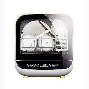 YXYY Lave-Vaisselle entièrement Automatique à Installation sans Bureau, Technologie de Douche à Jet de Baleine 3D, Nettoyage Puissant à 360 degrés, stérilisation à Haute température à 70 degrés,