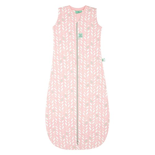 ergoPouch 0.2 Tog Jersey Sleeping Bag Organic Cotton (Spring Leaves, 8-24 Months)
