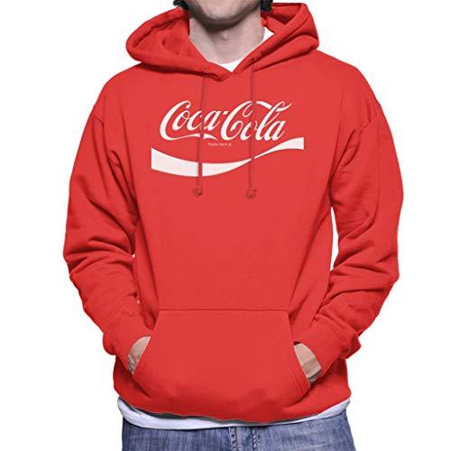 Coca-Cola 1941 Swoosh Logo Men's Hooded Sweatshirt
