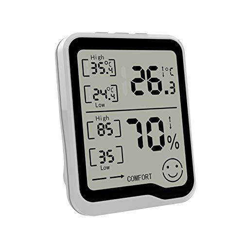 Professionelle Mini Digital LCD Thermometer Hygrometer Luftfeuchtigkeit Temperaturmesser Indoor Digital LCD Display Sensor