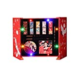 10pcs Exquisite Matte Chinese Style 5 Color Lipstick Set with Gift Box 9 Color Eyeshadow Palette Eye Liners Mirror