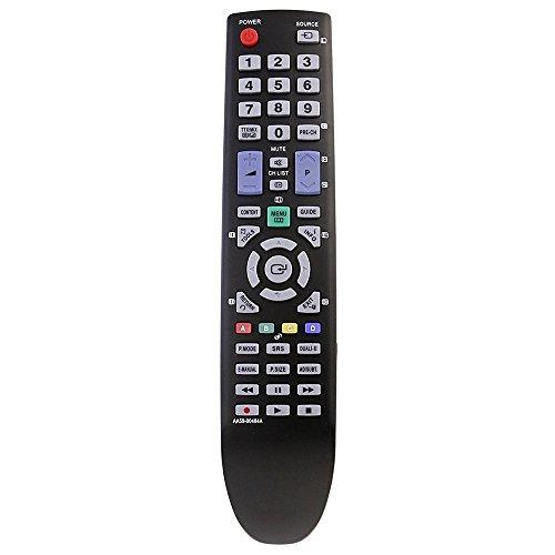 Allimity AA59–00484Ersatz-Fernbedienung für Samsung TV LE19D450G1WXXU LE40D580K2KXXU LE22D450G1WXXU LE46D550K1WXXU PS51D450A2W LE26D450G1WXXU LE32D550K1WXXU PS43D450A2WXZG LE32D580K2KXXU