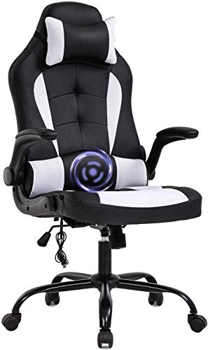 PC Gaming Chair Ergonomic Racing Heavy Duty Office Chair...