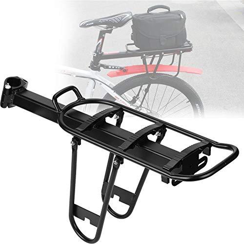 Portaequipajes Bicicleta Trasero Portabicicletas De Acero Universal Bicicleta Portabultos MTB Aluminio Bastidores...