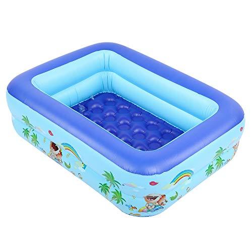 Ymiko Piscina Inflable para jardín, salón, Patio, Piscina para niños, bebés, Exterior, Patio Trasero, Fiesta acuática, 45,3 x 36,2 x 13 Pulgadas
