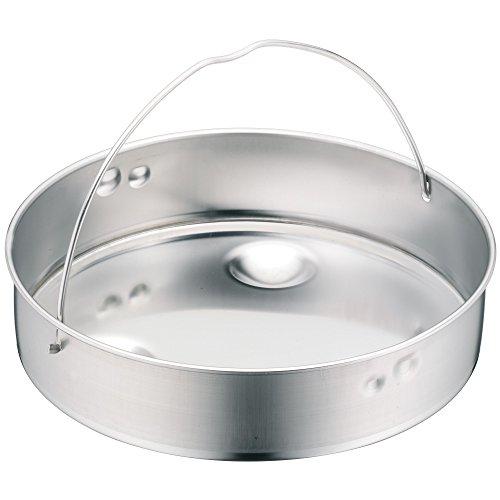 WMF Schnellkochtopf-Zubehör, Dampfer-Einsatz 10,3 cm, ungelocht, für Schnellkochtopfe 3,0-8,5 l, 22 cm, Cromargan Edelstahl, spülmaschinengeeignet