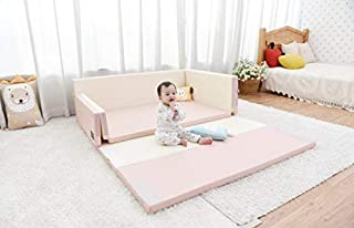 Baby Bumper Bed (Love Pink)