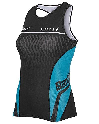 Santini Fashion Sleek Aero Road Short Sleeve Jersey