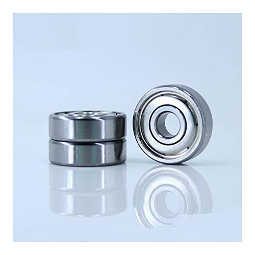 Basic Cellphone Cases CHENZHANMAOYI For Desktop 3D Printer Special Bearing 625ZZ 5X16X5mm for Mini kogellager 625 for Kossel Mini Prusa i3 Parts (10PCS) Ball Bearings (Size : 52100 Chrome Steel)