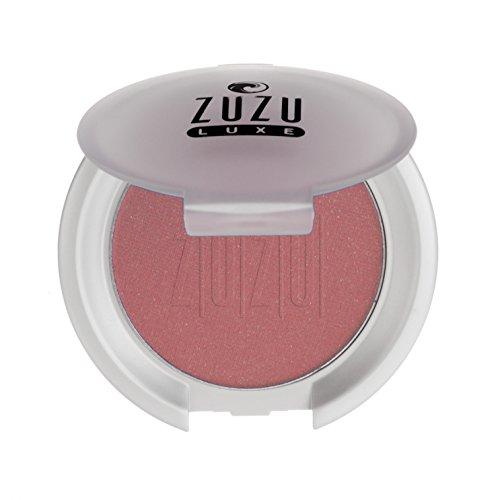 Zuzu Luxe Blush (Haze),0.1 oz,Mineral Blush, Richly pigmented, velvety smooth formula. Natural, Paraben Free, Vegan, Gluten-free, Cruelty-free, Non GMO.