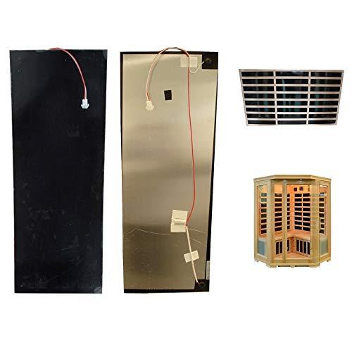 Carbonstrahler 20x80cm 120 Watt Infrarotstrahler Strahler Heizstrahler Infrarotkabine