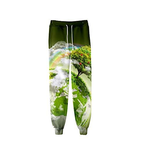 3D-kleurendruk heren en dames Tapered skinny joggingbroek voor heren Gemaakt van duurzame stof, strakke trainingsbroek Eenvoudig te verplaatsen