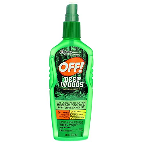 OFF! Deep Woods Off! Insect Repellent Pump 6 oz (Pack of 4)