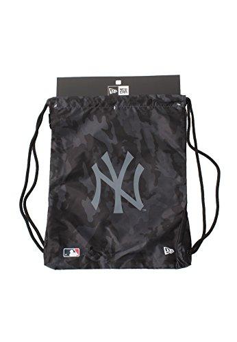 New Era MLB New York Yankees Sàc De Sport Gymsack Unisex Gris sans Taille