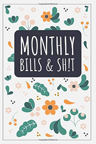 Monthly Bills & Sh!T: Balance Ledger For Personal or Business Bank Account  - General Business Ledger Checking Account Transaction Register Cash Book ... for Bookkeeping Budget Planner 6x9 Inches