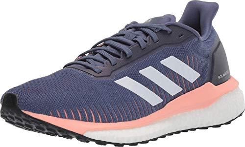 adidas Women's Solar Drive 19 Running Shoe, tech Ink/White/Glow Pink, 9 M US