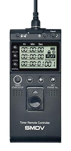 Impulsfoto SMDV Timer Fernauslöser, Kompatibel mit Nikon Kameras, Kabelauslöser mit Timer- und Intervallfunktion Langzeitbelichtung - Ersatz für MC-DC2 - T808