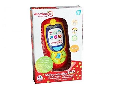 Globo téléphone avec lumières et Sons, Multicolore, glo1065