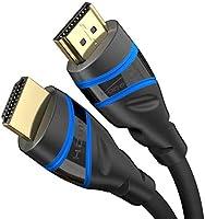 KabelDirekt – 1 m – Câble HDMI 2.1 8K Ultra High Speed, certifié (48G, 8K@60 Hz, Tout dernier Standard, Officiellement...