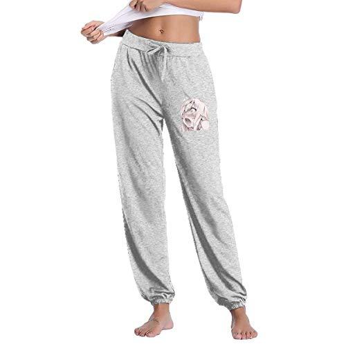 Mujer Cintura Elástico Ahegao Hentai Anime Sexy Cara Figura Casual Pantalones Yoga Pantalones Pantalones Chándal