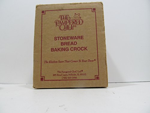 The Pampered Chef Stoneware Bread Baking Crock