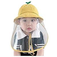 子供用 可愛い 漁師の帽子 野球帽 サンバイザーHodarey 日除け帽子 花粉 飛沫 ほこり黄砂 粉塵対策 防護帽 フェイスカバー取り外し可能 漁師の帽子ハット防塵 花粉症対策 日よけ帽子 紫外線対策 日焼け防止 UVカットおしゃれ キャップ 安全保護帽子