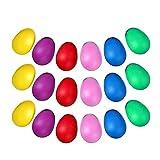 JZZJ - Juego de coctelera de huevos de 24 piezas, huevos de maracas, huevos musicales,...
