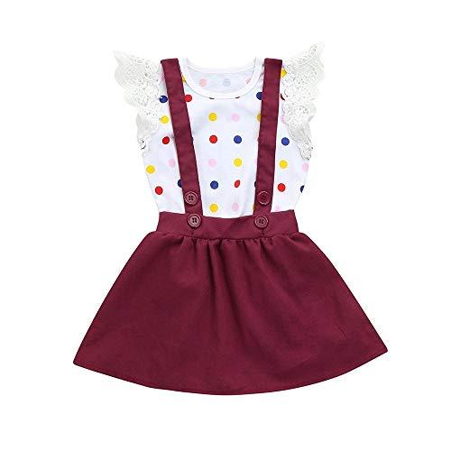 Lmmvp Zomerjurk, kinderkleding, partyjurk, babykleding, prinses, jurk, jongens, meisjes, kleinkinderen, zomer, modieus, compleet, bloemenprint, jurk, overall, jurk, tutu jurken, outfits set