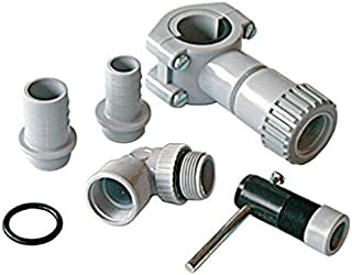 Universal Spares2go Self Bore Plumbing Kit For all Makes And Models Of Dishwasher (Non-return valve)