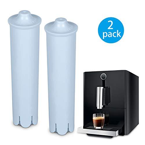Rhodesy Filterpatrone für Jura Claris Blue, Wasserfilter für Jura Automatische Kaffeevollautomat, Kompatibel mit der ENA IMPRESSA-Serie (2er Pack)