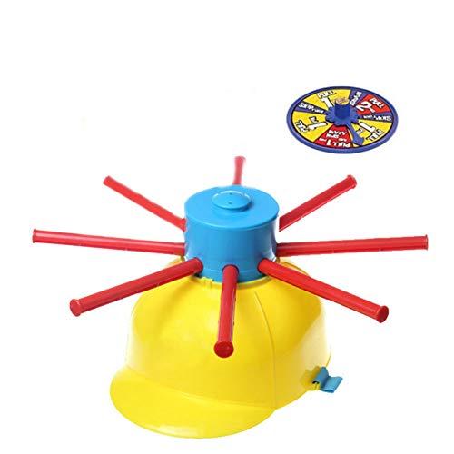 Juego de ruleta de agua | Divertido juego de rouleta mojada con gorro de challenge para familias, fiestas, vacaciones y actividades al aire libre
