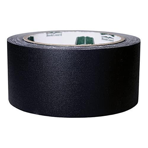 BookGuard 2 inch Premium Cloth Bookbinding Repair Tape, 15 Yard Roll, Black