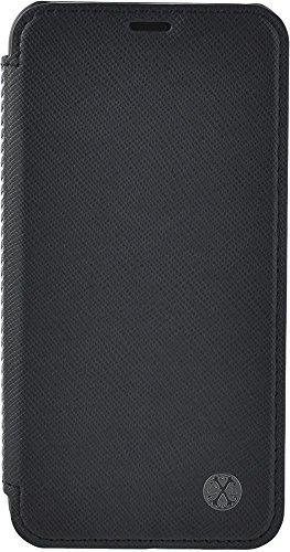 Christian Lacroix CXL Saffiano Folio Case for iPhone X/XS Jet Colour
