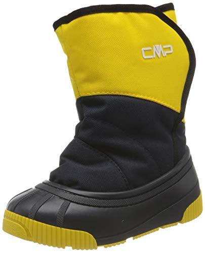 CMP Baby LATU Snow Boot, Yellow-Blue, 24 EU