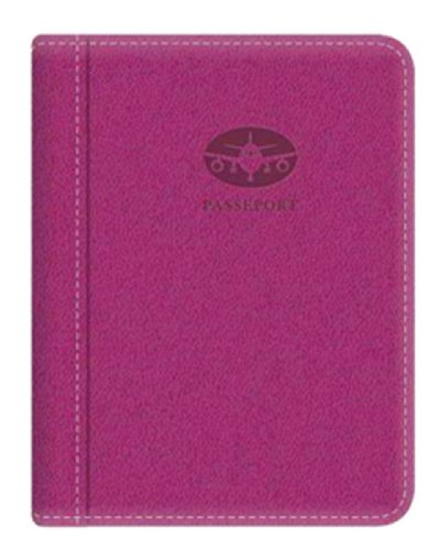 Pierre Belvedere Executive Passport Holder, Fuchsia (677380)