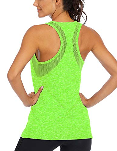 ICTIVE Workout Tank Tops for Women Loose fit Yoga Tops for Women Mesh Racerback Tank Tops Open Back...