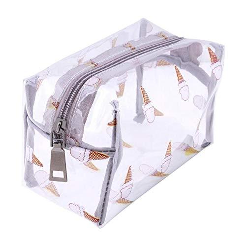 Aqiong Hibeilinq Femmes Voyage Transparent Cas de Maquillage Zipper Sac cosmétique PVC Make Up Sacs Organizer Pochette de Rangement Sac de Toilette de