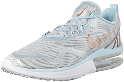 Nike Nike Damen WMNS Air Max Fury Laufschuhe, Mehrfarbig (Pure Platinum/MTLC Red Bronze 005), 38.5 EU