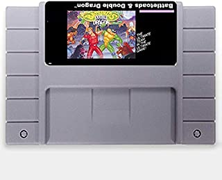 Battletoads Double Dragon The Ultimate Team 16 Bit Ntsc Big Gray Game Card For Usa Version Game Player