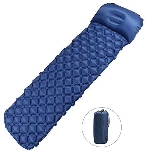 MEIZI Isomatte Selbstaufblasend Isomatte Camping 191X56X6CM Luftmatratze Camping Matratze, Selbstaufblasbare luftmatratze Outdoor Leichte Isomatte Schlafmatte Camping