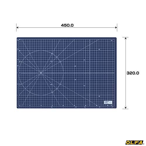 オルファ『ふたつ折りカッターマットA3ネイビー(223BNV)』